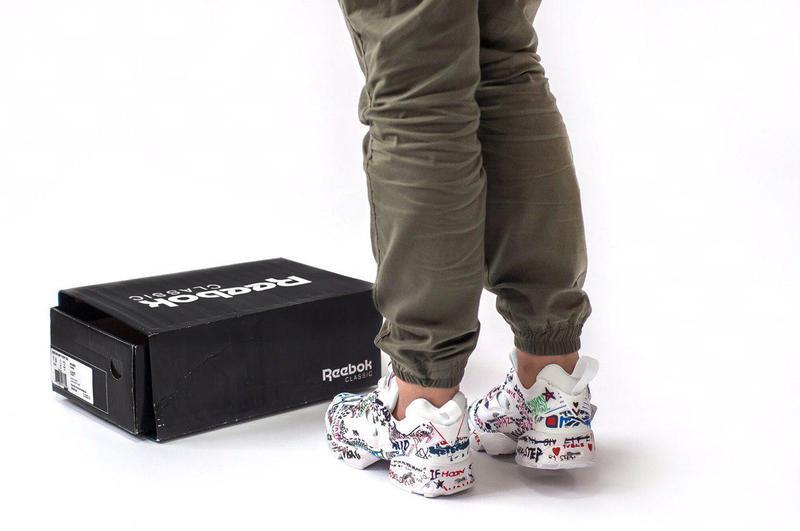 Шикарные женские кроссовки insta pump (весна/ лето/ осень) - Фото 4