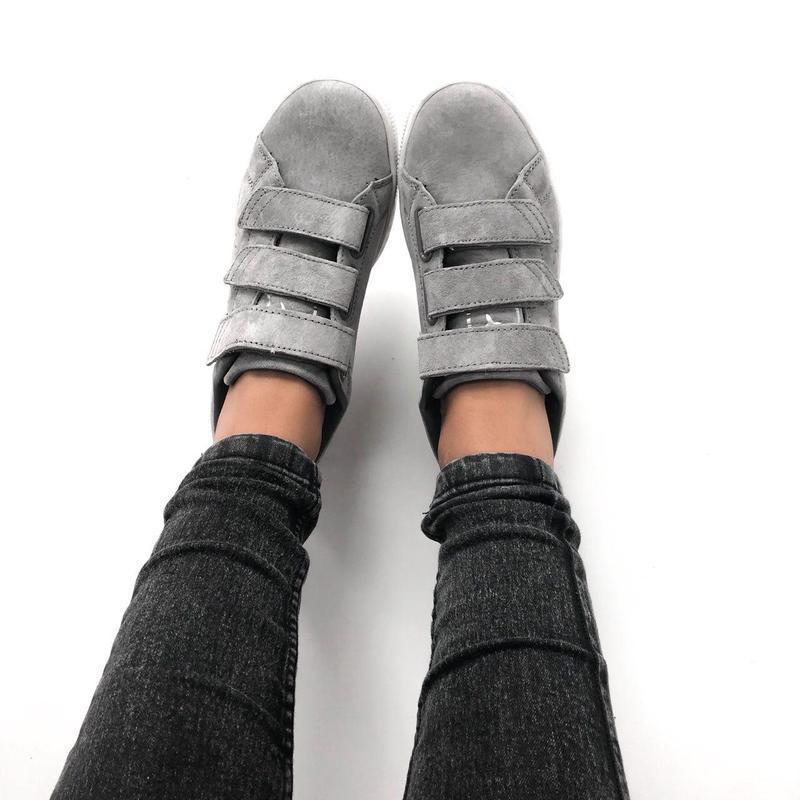 Шикарные женские кроссовки puma basket strap (весна/ лето/ осень) - Фото 2