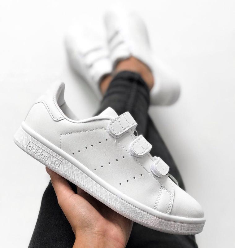 Шикарные женские кроссовки adidas stan smith comfort (весна/ л...