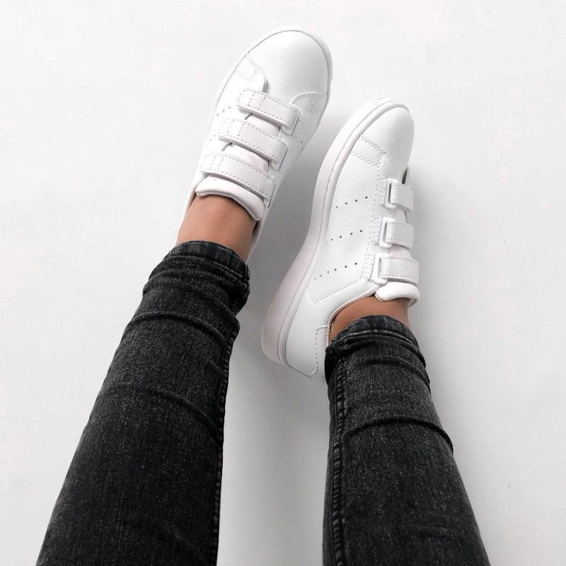 Шикарные женские кроссовки adidas stan smith comfort (весна/ л... - Фото 3