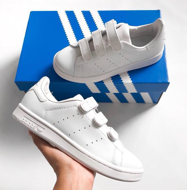 Шикарные женские кроссовки adidas stan smith comfort (весна/ л... - Фото 4