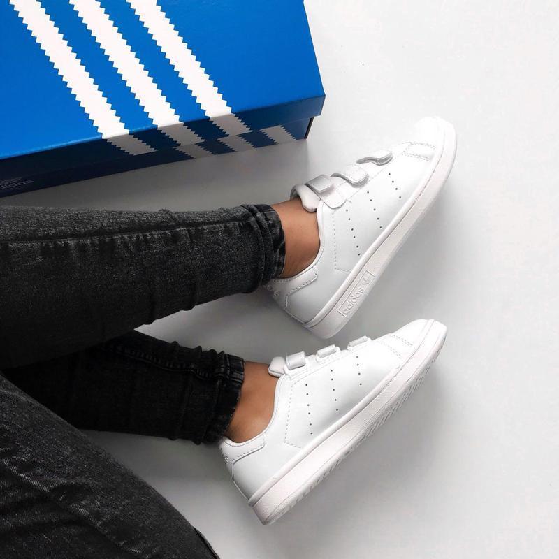 Шикарные женские кроссовки adidas stan smith comfort (весна/ л... - Фото 5