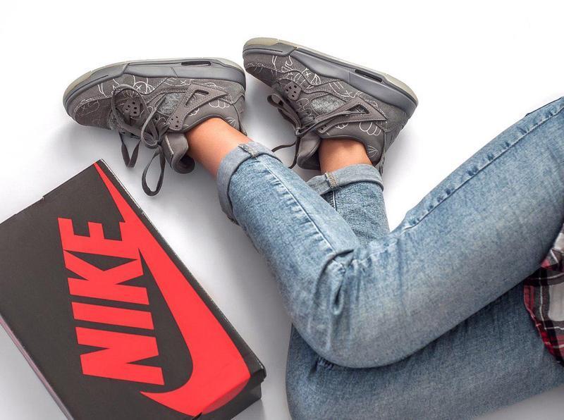Шикарные женские кроссовки (весна/ лето/ осень) - Фото 4