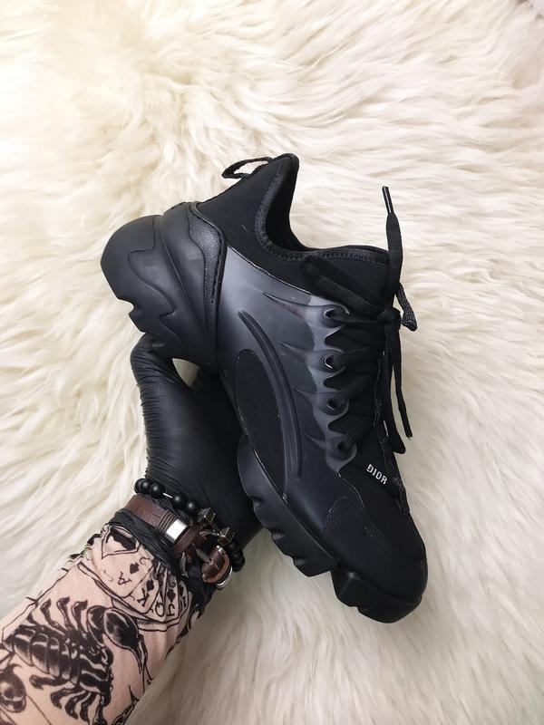 Стильные женские кроссовки connect triple black. (весна/лето/о...