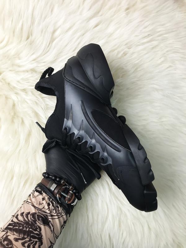 Стильные женские кроссовки connect triple black. (весна/лето/о... - Фото 4