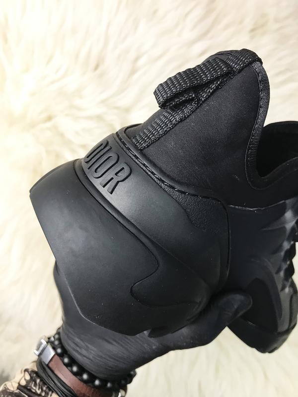 Стильные женские кроссовки connect triple black. (весна/лето/о... - Фото 5