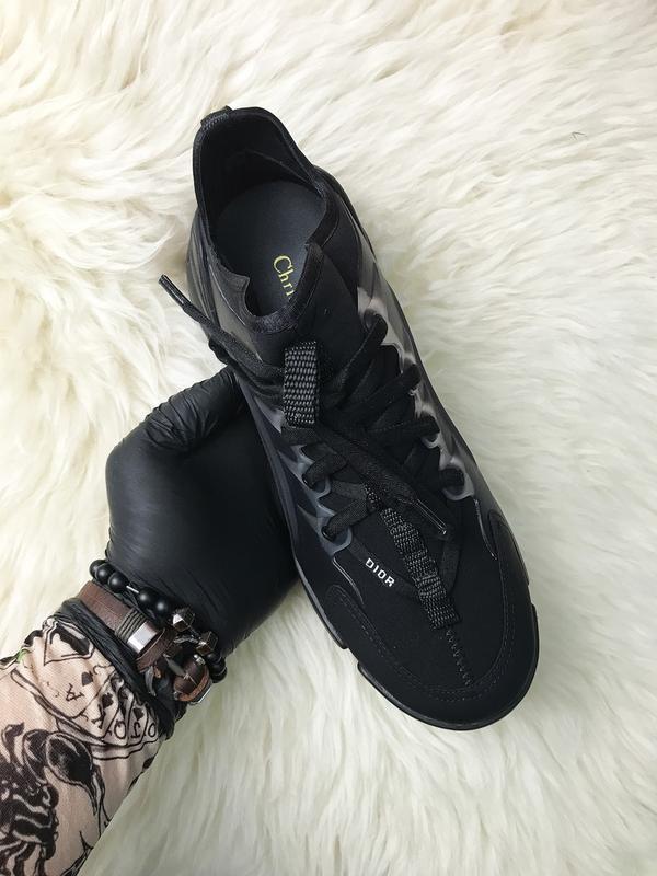 Стильные женские кроссовки connect triple black. (весна/лето/о... - Фото 6