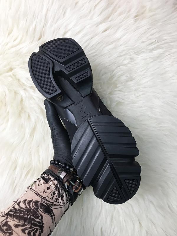 Стильные женские кроссовки connect triple black. (весна/лето/о... - Фото 7
