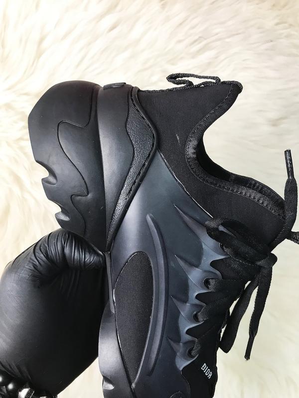 Стильные женские кроссовки connect triple black. (весна/лето/о... - Фото 9