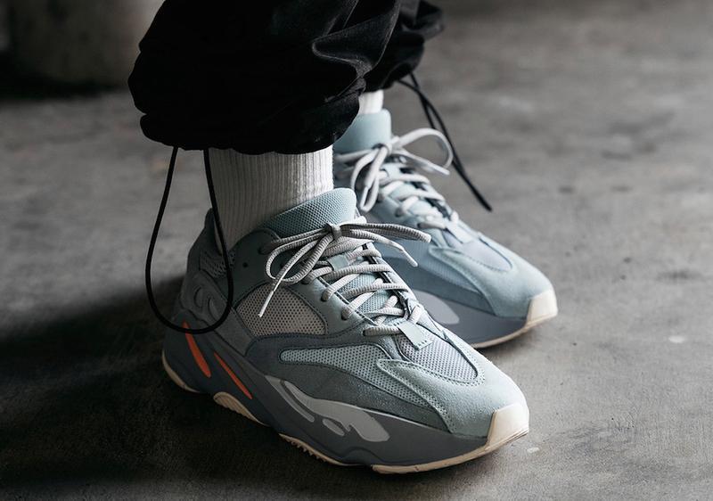Кроссовки adidas yeezy boost 700 inertia (весна/лето/осень) - Фото 3