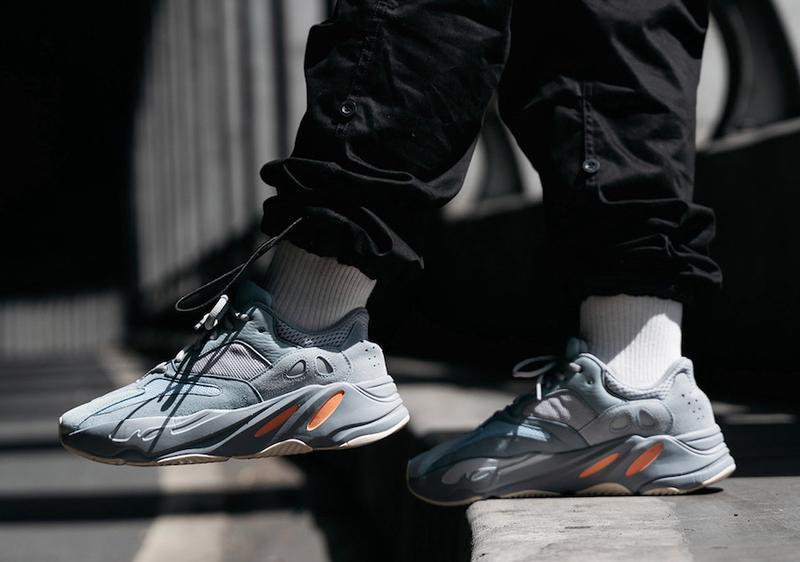 Кроссовки adidas yeezy boost 700 inertia (весна/лето/осень) - Фото 4