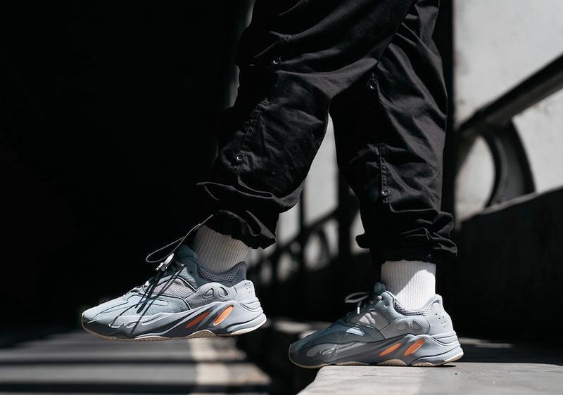 Кроссовки adidas yeezy boost 700 inertia (весна/лето/осень) - Фото 5