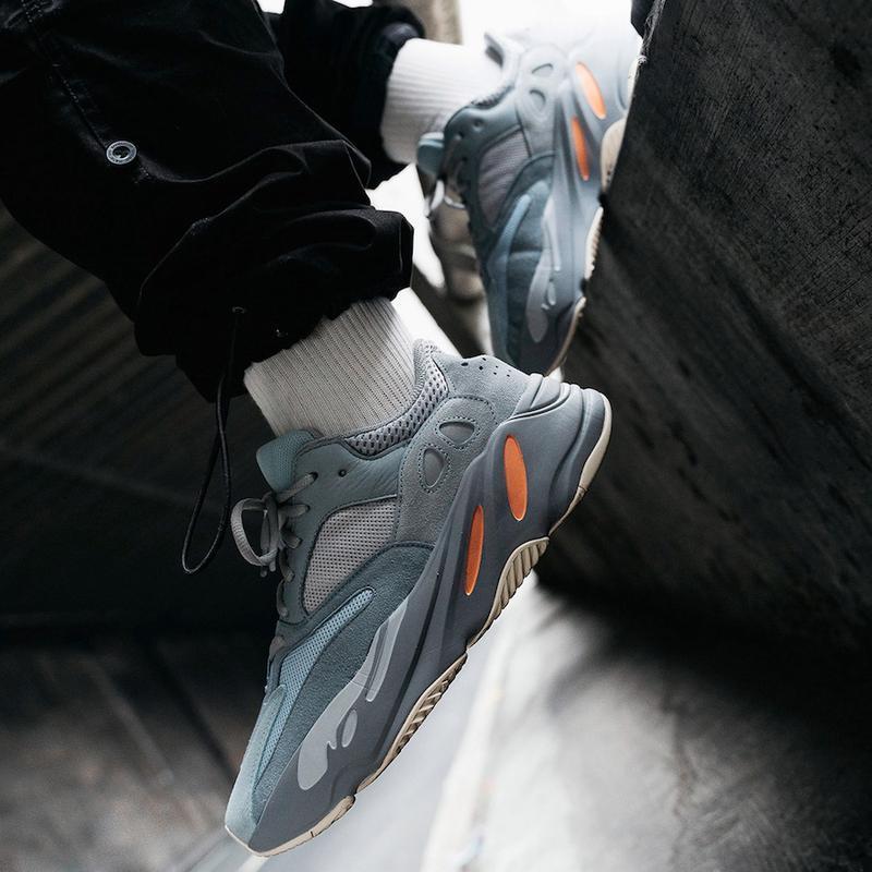 Кроссовки adidas yeezy boost 700 inertia (весна/лето/осень) - Фото 7