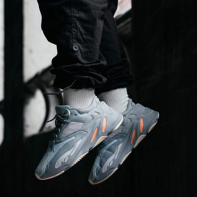 Кроссовки adidas yeezy boost 700 inertia (весна/лето/осень) - Фото 9