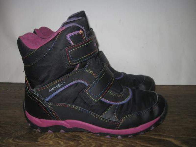 Зимние ботинки geox amphibiox р.37
