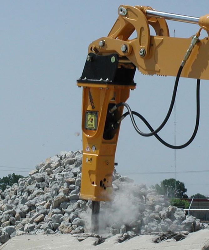 Демонтаж будівель, конструкцій - послуги гідромолота, оренда г...