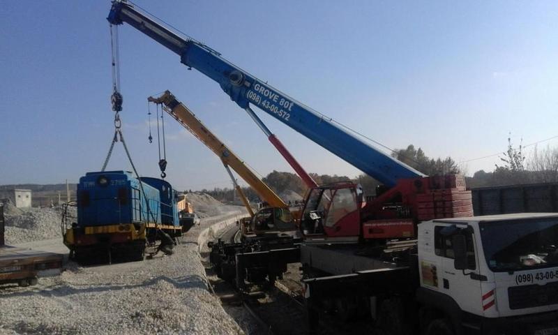 Надаємо послуги автокраном 10 тонн, 25 тонн, 80 тонн Grove, XC...