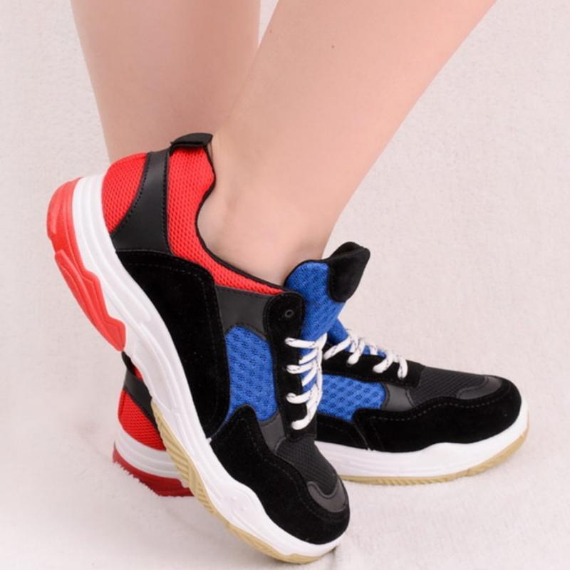 Кроссовки на шнуровке - Фото 3