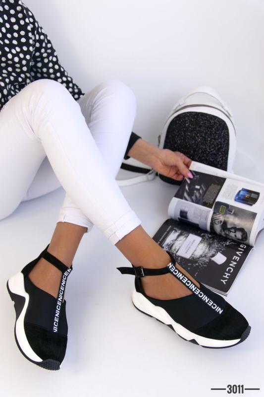 Женские туфли в спортивном стиле