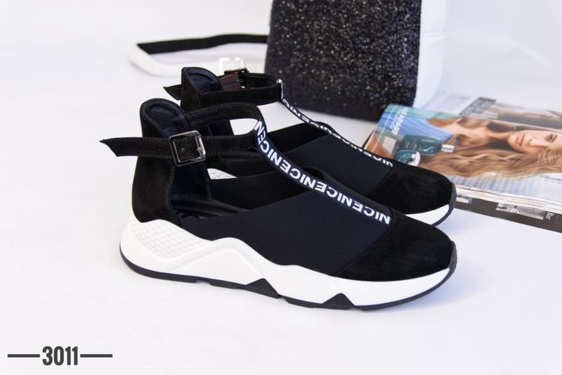 Женские туфли в спортивном стиле - Фото 2