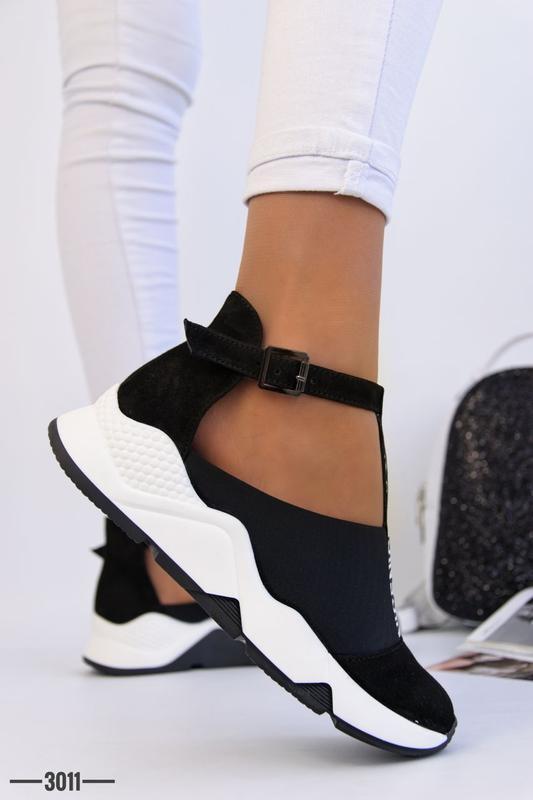 Женские туфли в спортивном стиле - Фото 5