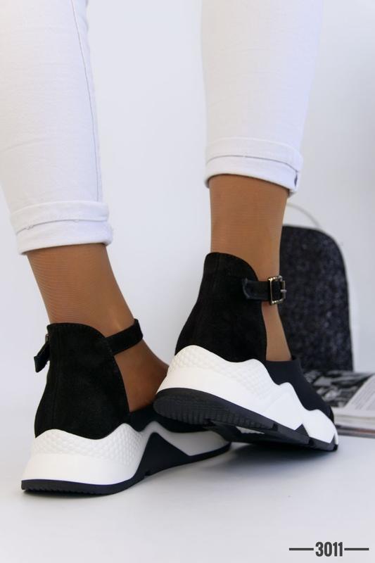 Женские туфли в спортивном стиле - Фото 6