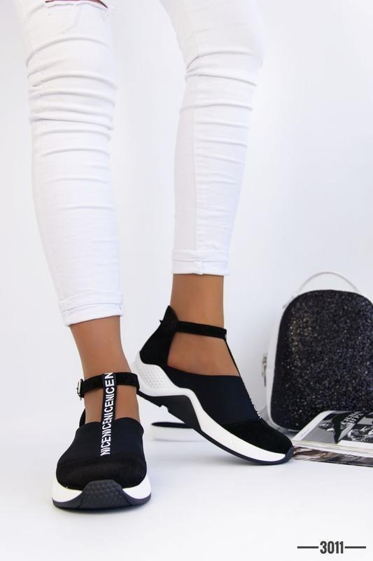 Женские туфли в спортивном стиле - Фото 7