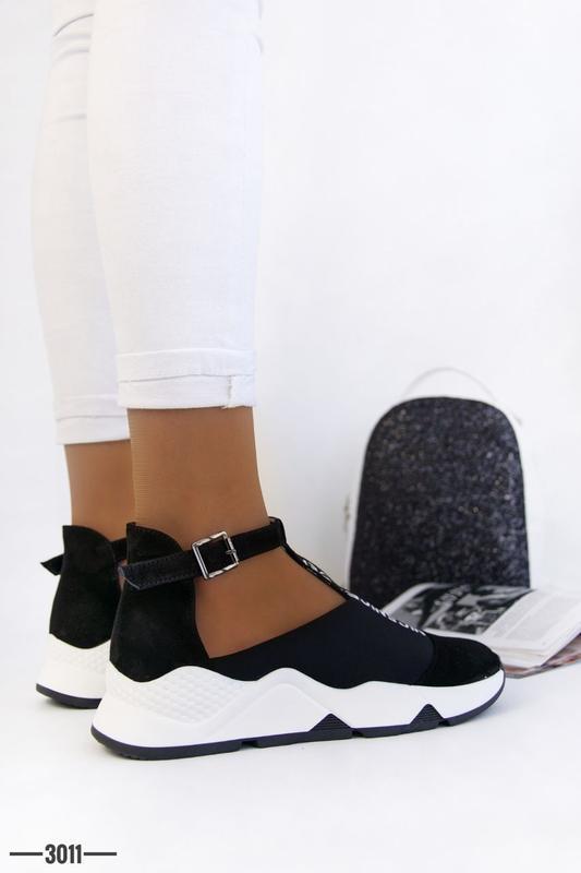 Женские туфли в спортивном стиле - Фото 8