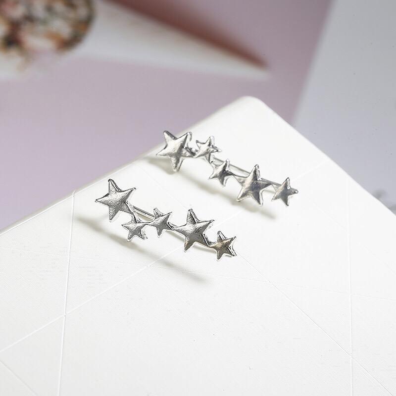 Серьги звёзды