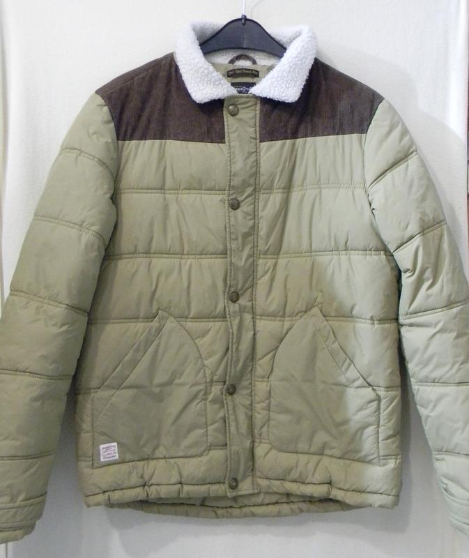 Мужская утепленная куртка jack&jones р.м комбинированная