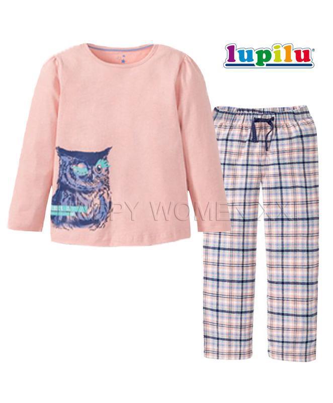 Пижама для девочки 1~2 года lupilu домашняя одежда лупилу