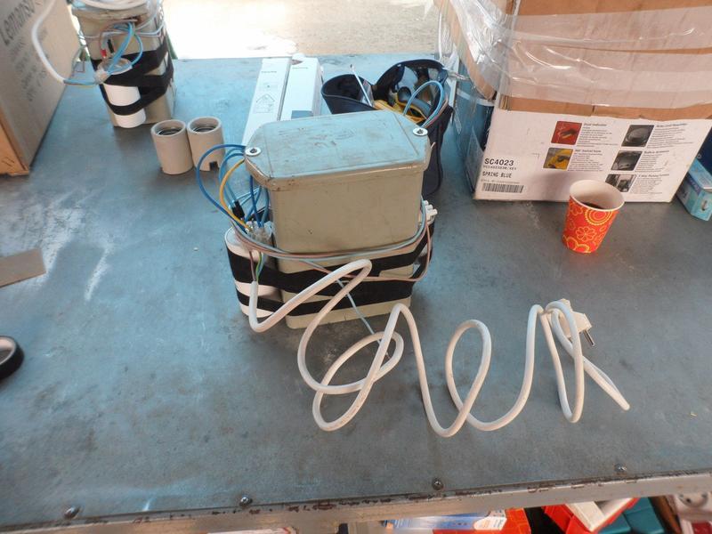 Комплект Днат 400W с герметичным дросселем+конденсатор