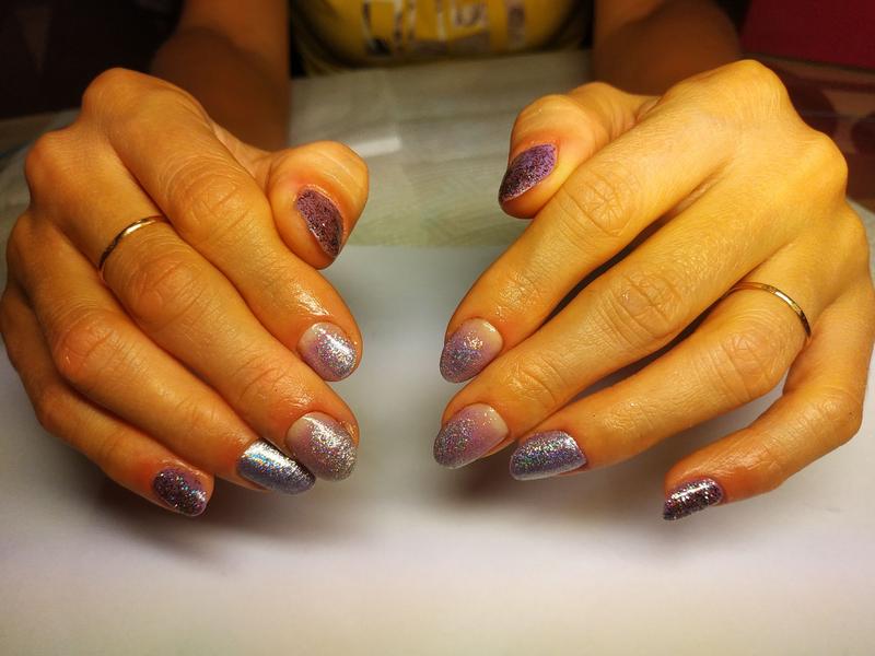 Маникюр наращивание ногтей покрытие гель лаком - Фото 3