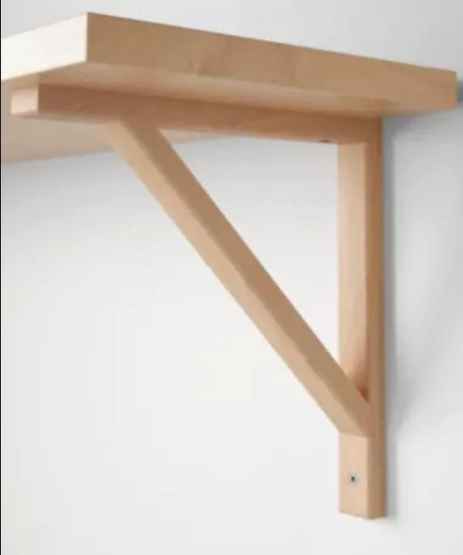 Держатель для навесных полок IKEA