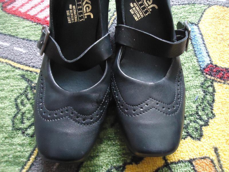 Кожаные фирменные туфли антистресс - Фото 2