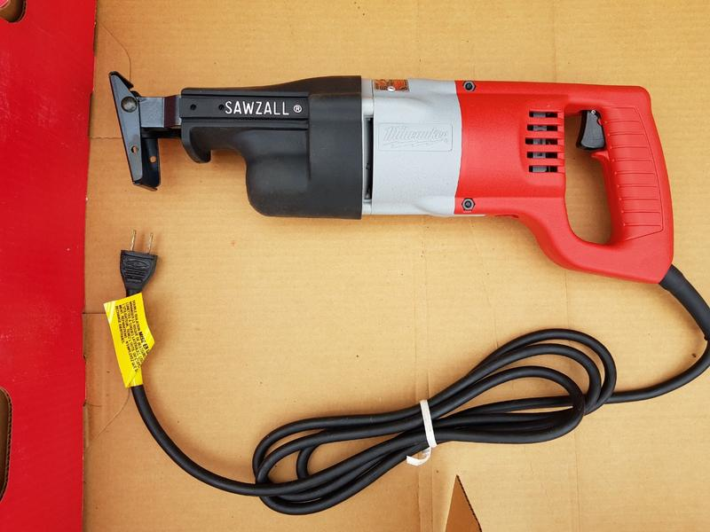 Пила сабельная Milwaukee 6509-6 Sawzall, 120V, USA