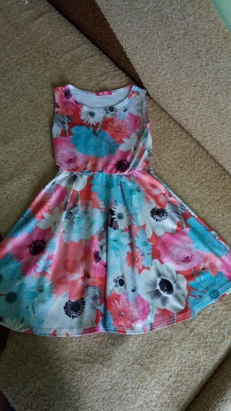 миленькое платье на 9 лет