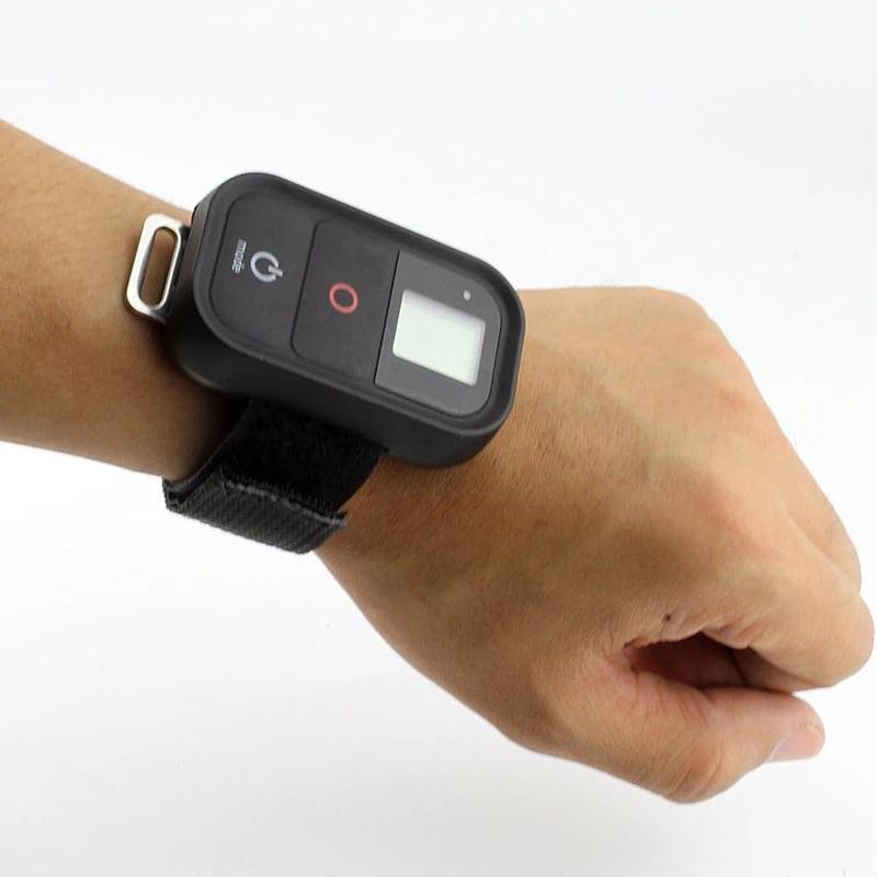 Ремешок на запястье для GoPro камеры пульта 2,5х28 см на липучке