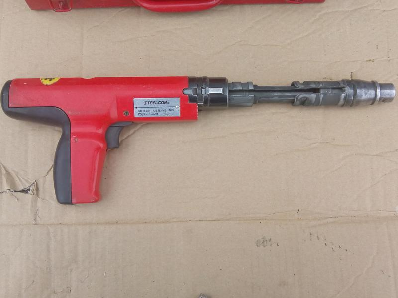 Пороховой монтажный пистолет Steelcon Cobra III, б\у - Фото 5