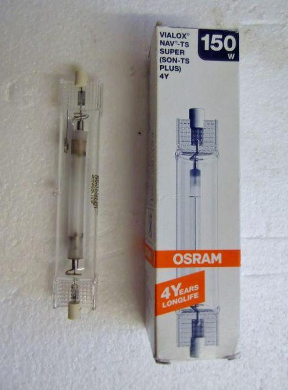 Фитоосвещение Лампа натриевая OSRAM Vialox NAV-TS Super 4Y 150W