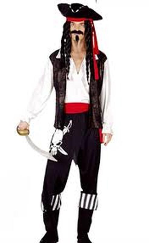 Костюм пират джек воробей хеллоуин хэллоуин маскарад новый год