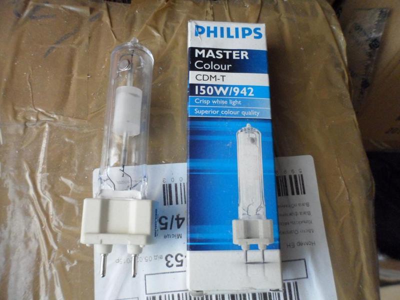 Лампа 150 ватт МГЛ Philips MASTER Colour CDM-T G12 150W