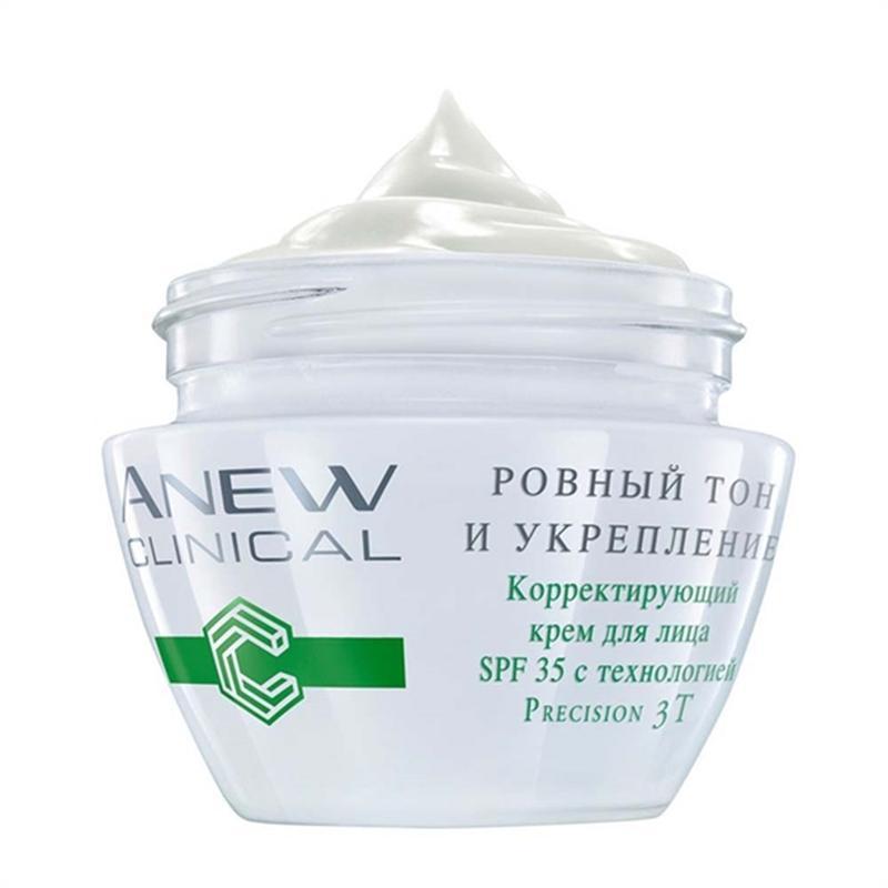 Коригувальний крем для обличчя spf 35 з саліциловою кислотою і...