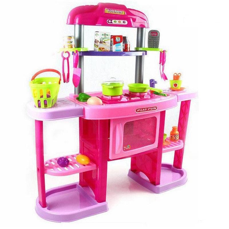 Детская игровая кухня 661 75 высота 84 см,
