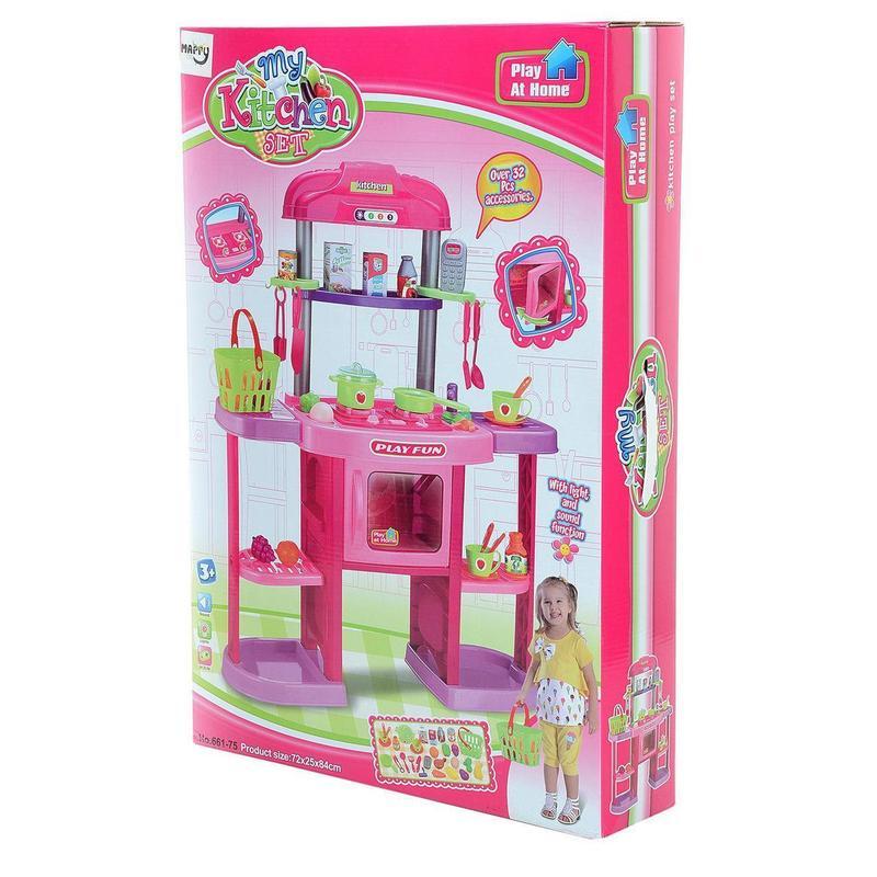 Детская игровая кухня 661 75 высота 84 см, - Фото 4