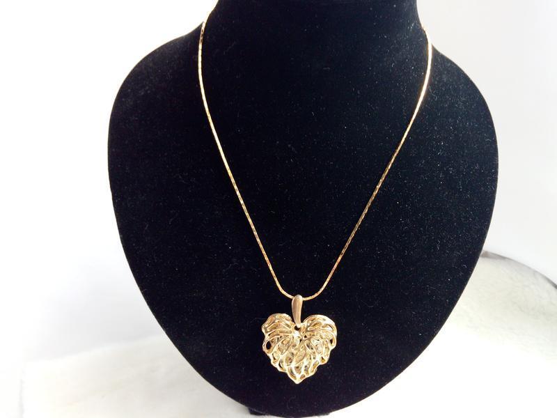 Шикарная цепочка с подвеской сердце