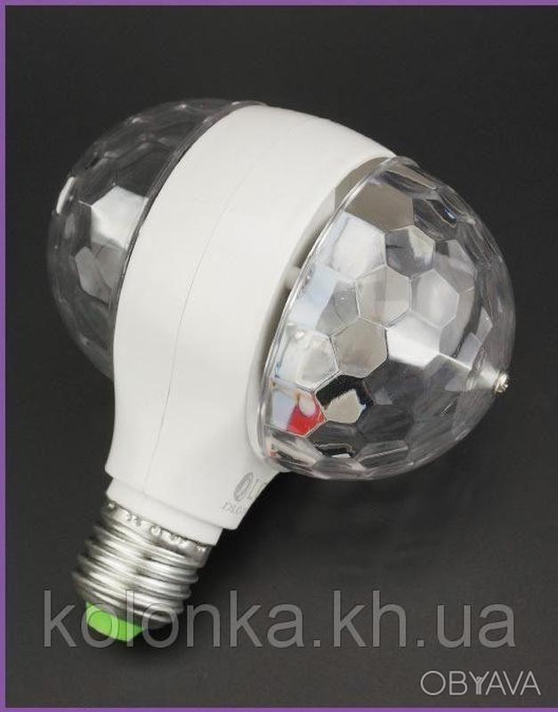 Двойной диско-шар для вечеринок LED - Фото 3