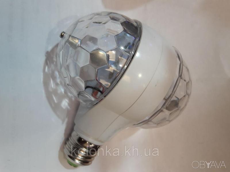 Двойной диско-шар для вечеринок LED - Фото 4