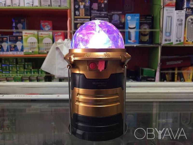 Кемпинговая аккумуляторная лампа Camping Light Muxindo Mux-666