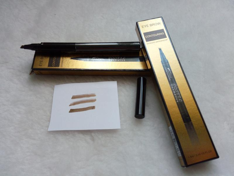 Водостойкий маркер для бровей с эффектом микроблейдинга